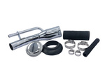 Chevrolet Parts -  Gas Filler Kit With Hoses, Clamps, Neck , Cap And Grommet - Chrome
