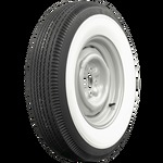 "Chevrolet Parts -  Tire (670x15). BF Goodrich, Bias Ply, 3-5/8"" White Wall, Tubeless"