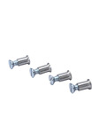 Door Glass Frame Screws & Sleeve Nuts Upper And Lower One Set Does One Door