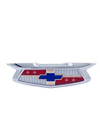 Chevrolet Parts -  Trunk Emblem, Plastic With Chrome Bezel
