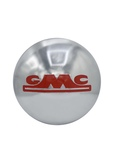 GMC Parts -  Hub Cap, Chrome GMC With Red Lettering (1/2 Ton Only)