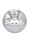 GMC Parts -  Hub Cap, (GMC ) Chrome With White Lettering - 1/2 Ton Only