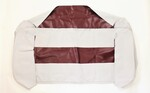 Chevrolet Parts -  Seat Cover. 1947-49 Choose Color Black, Brown, Maroon Or Spanish Grain