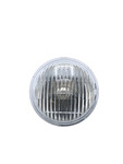 "Chevrolet Parts -  Light, Driving Clear Sealed Beam Lamp #4015 6v 5"" Screw Terminals"