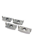Fender Nuts, Caged, For Bolts (4 Pieces)