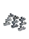 Chevrolet Parts -  Clip For Front Fender Extension (On Door). Fits Fleetline (9 Pieces)
