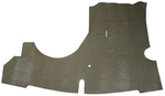 Chevrolet Parts -  Trunk Mat - Coupe And Convertible, Taupe