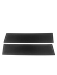 Chevrolet Parts -  Sill Plates -Rubber, Rear. 4-Door & Wagon (Except Fleetline)