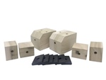 Chevrolet Parts -  Bed Mount Blocks & Pads For 1/2 Ton