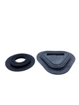 Chevrolet Parts -  Gas Pedal Carpet Grommets, And Dimmer Switch - Black Rubber