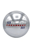 Chevrolet Parts -  Hub Cap, Modified For Rallye Wheel, Stainless