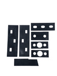 Chevrolet Parts -  Trunk Hinge Gaskets For Sedan
