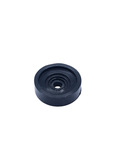 Chevrolet Parts -  Disk - Dummy (Knob), Black. Behind Radio Knob