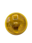 "Chevrolet Parts -  Light, Fog -Amber Sealed Beam Lamp #4012A 6v 6"" Screw Terminals"