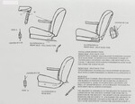 Chevrolet Parts -  Armrest Installation Sheet - Center Fold Down