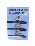Chevrolet Parts -  Glove Box Accessory Book - Color Reproduction