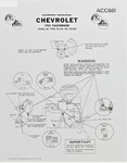 Chevrolet Parts -  Installation Sheet - Oil Filter (Original Ac)