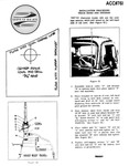 Chevrolet Parts -  Installation Sheet - Antenna, Includes Template