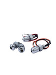 "Parts -  License Plate Light ""Bright Bolts"" Stainless Steel Bolts - 2 Units With Wires, Nuts"