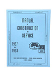 Chevrolet Parts -  Manual, Fisher Body Construction & Adjustment (Superb Reproduction)