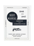 Chevrolet Parts -  Manual, Fisher Body Construction & Adjustment
