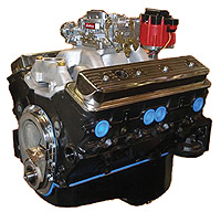 "Chevrolet Parts -  Crate Engine, GM - 383ci (Chevy Small Block) Iron Heads - 350hp With Carb & Ignition ""Budget Stomper"""