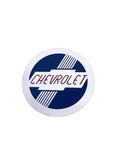 Chevrolet Parts -  Heater Decal - (Fresh Air) Round Emblem
