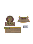Chevrolet Parts -  Decal Set - Oil Filter (1950s) Fram