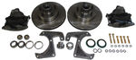Chevy Parts -  Brake Disc Conversion Front- 1928-40 Straight Axle Car And Truck. Complete Kit - 6 Lug