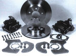 "Parts -  Brake Disc Conversion Rear -Ford 8"" & 9"", 4-1/2"" Bolt Circle (Small Housing & Flange)"