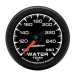"Parts -  Instrument Gauges - Auto Meter Es Series 2-1/16"", Water Temp Gauge"