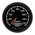 "Parts -  Instrument Gauges - Auto Meter Es Series 3-3/8"", 160 Mph, Programmable Speedometer"
