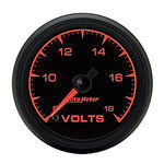 "Parts -  Instrument Gauges - Auto Meter Es Series 2-1/16"", Fse Volts Gauge"
