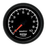 "Parts -  Instrument Gauges - Auto Meter Es Series 3-3/8"", 10,000 Rpm Tach"