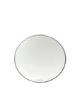 "Parts -  Rear View Mirror, Fatties Super - Round Head 4"" Polished"