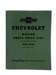 Chevrolet Parts -  Parts Book (Best For 42 & Earlier)