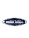 "Chevrolet Parts -  Tag - ""Delco Remy"" Starter, Generator & Distributor"
