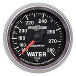 "Parts -  Instrument Gauges - Auto Meter Sport Comp II 2-1/16"" Water Temp Gauge. Mechanical 140-280 Deg., Full Sweep"