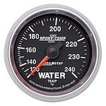 "Parts -  Instrument Gauges - Auto Meter Sport Comp II 2-1/16"" Water Temp Gauge. Mechanical 120-240 Deg., Full Sweep"