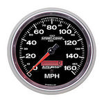 "Parts -  Instrument Gauges - Auto Meter Sport Comp II 5"" Speedometer. Electronic Programmable, 0-160 Mph"