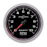 "Parts -  Instrument Gauges - Auto Meter Sport Comp II 5"" Tachometer. 0-10,000 Rpm"