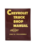 Chevrolet Parts -  Shop Manual - Original 48-52, Full Size. Superb