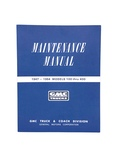GMC Parts -  Shop Manual - GMC , Full Size. Superb!