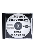 Chevrolet Parts -  Chevrolet Shop Manual - 49-54 Car On CD