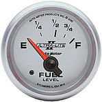 "Parts -  Instrument Gauges - Auto Meter Ultra Lite Ii 2-1/16"" Ford Fuel Level Gauge. Electric 73-10 Ohm, Short Sweep"