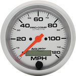 "Parts -  Instrument Gauges - Auto Meter Ultra Lite Series 3-3/8"" 0-120 Mph Electronic/ Programmable Speedometer"