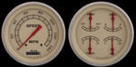 "Parts -  Instrument Gauges - 5"" Speedo & Quad-Cluster - Vintage Series With Flat Lens 12v"