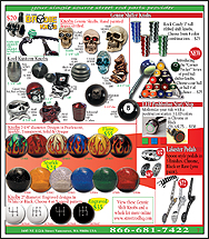 page 7 -New Interior Items -Shifters, Neon Starter Buttons & Pedals